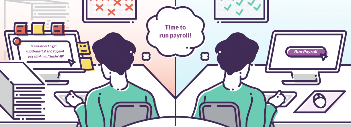 View more info about Multiple Pay Scenarios in One System.